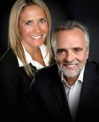 Portrait of Drs. Robert & Jessica Logan